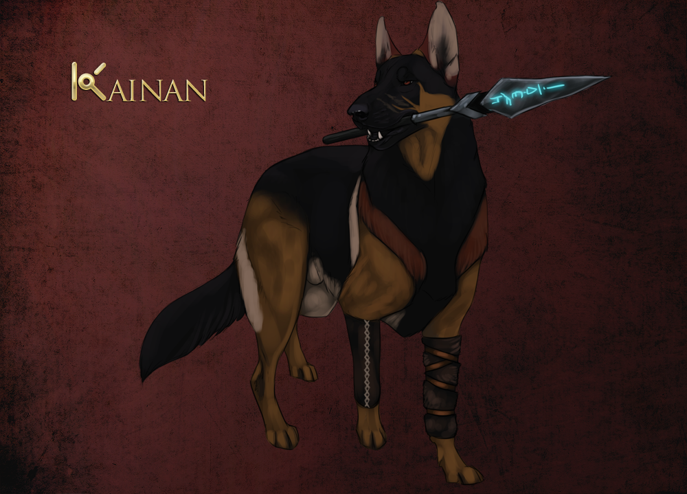 Kainan by Kique7 Animated animals, Animal drawings