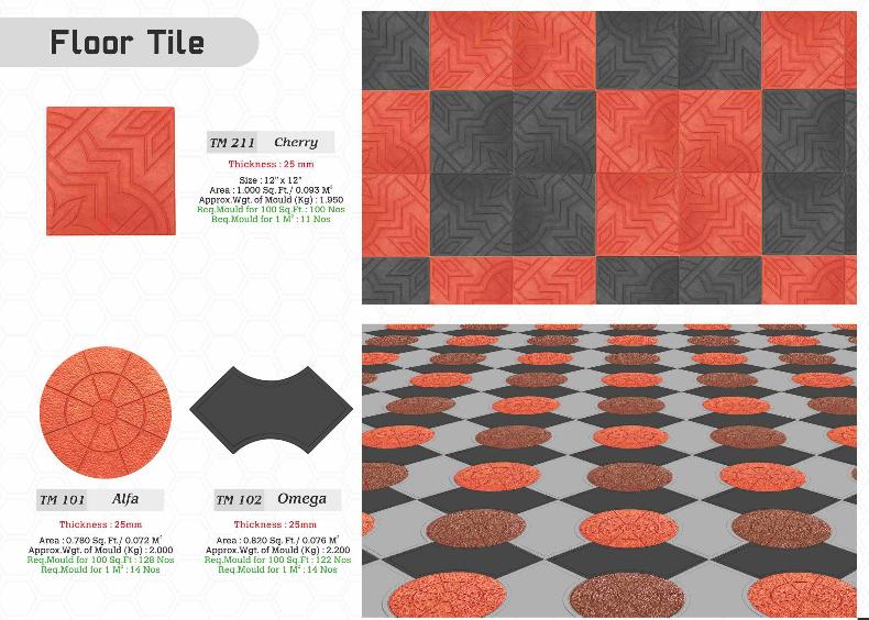 Jr Rubber Industries Thadapparambu Mulankunnathukavu P O Thrissur 680 581 Kerala India 91 8589082225 0487 2 Paver Blocks Paver Tiles Unique Flooring