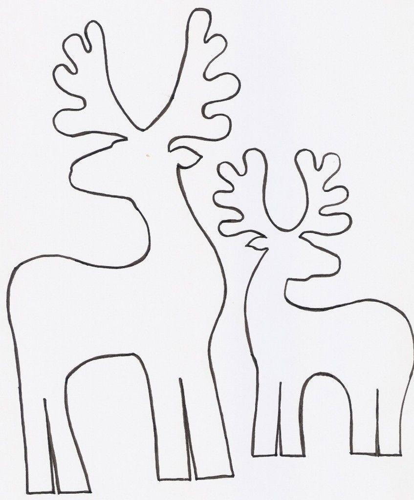 Renos en madera para decorar | Madera, Navidad y Guia de manualidades