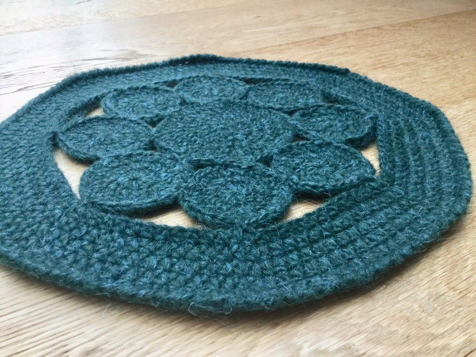 Crochet Placemats Free Pattern Stitches Pinterest Crochet