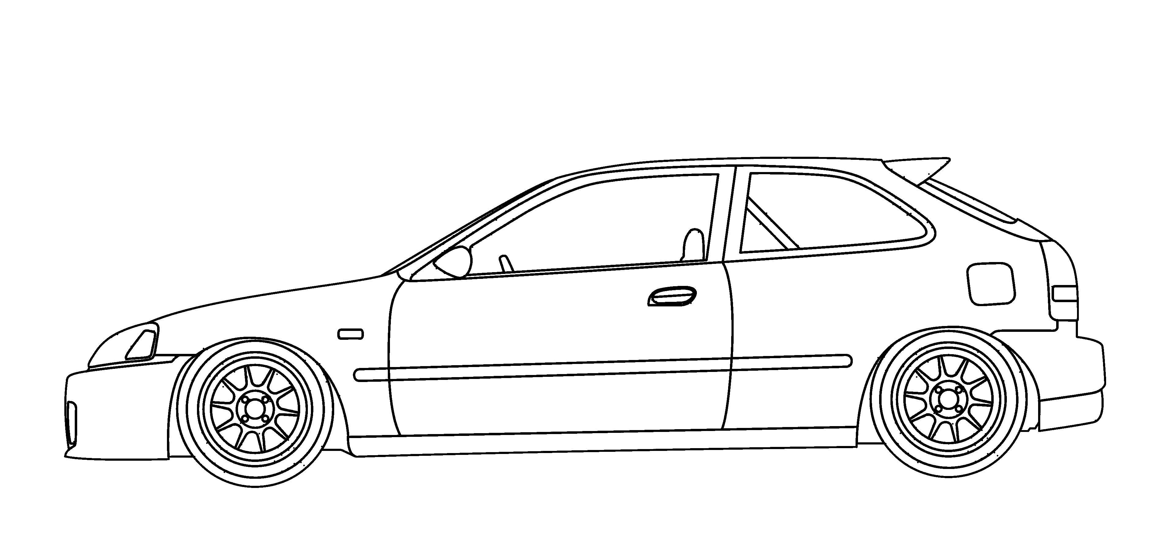 20170914064340 coloring Pages Honda Cars likewise Official Ef Front Brake Thread 2560687 additionally 800579 Drawing S2k as well 3p7eb Starter Relay Located Honda Accord 93 in addition Vw Golf 02a. on honda civic type r