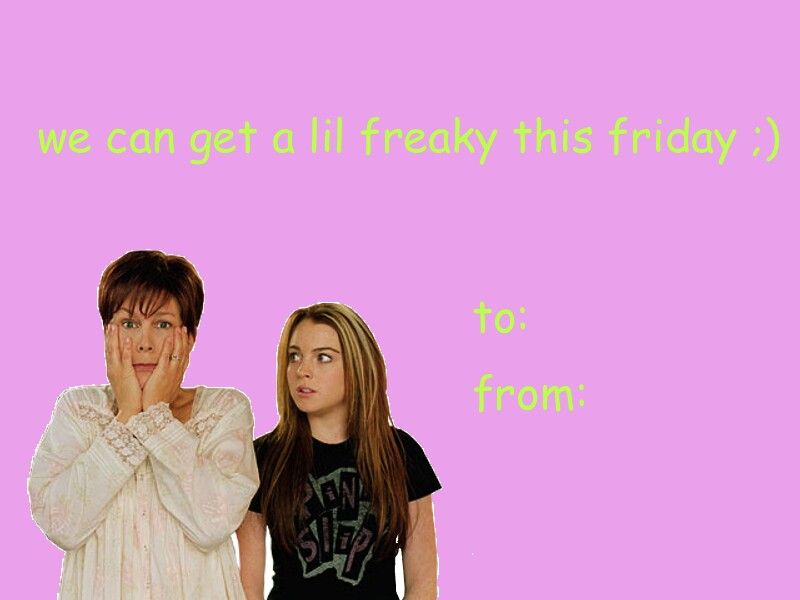 Freaky friday | Valentine\'s day cards | Pinterest