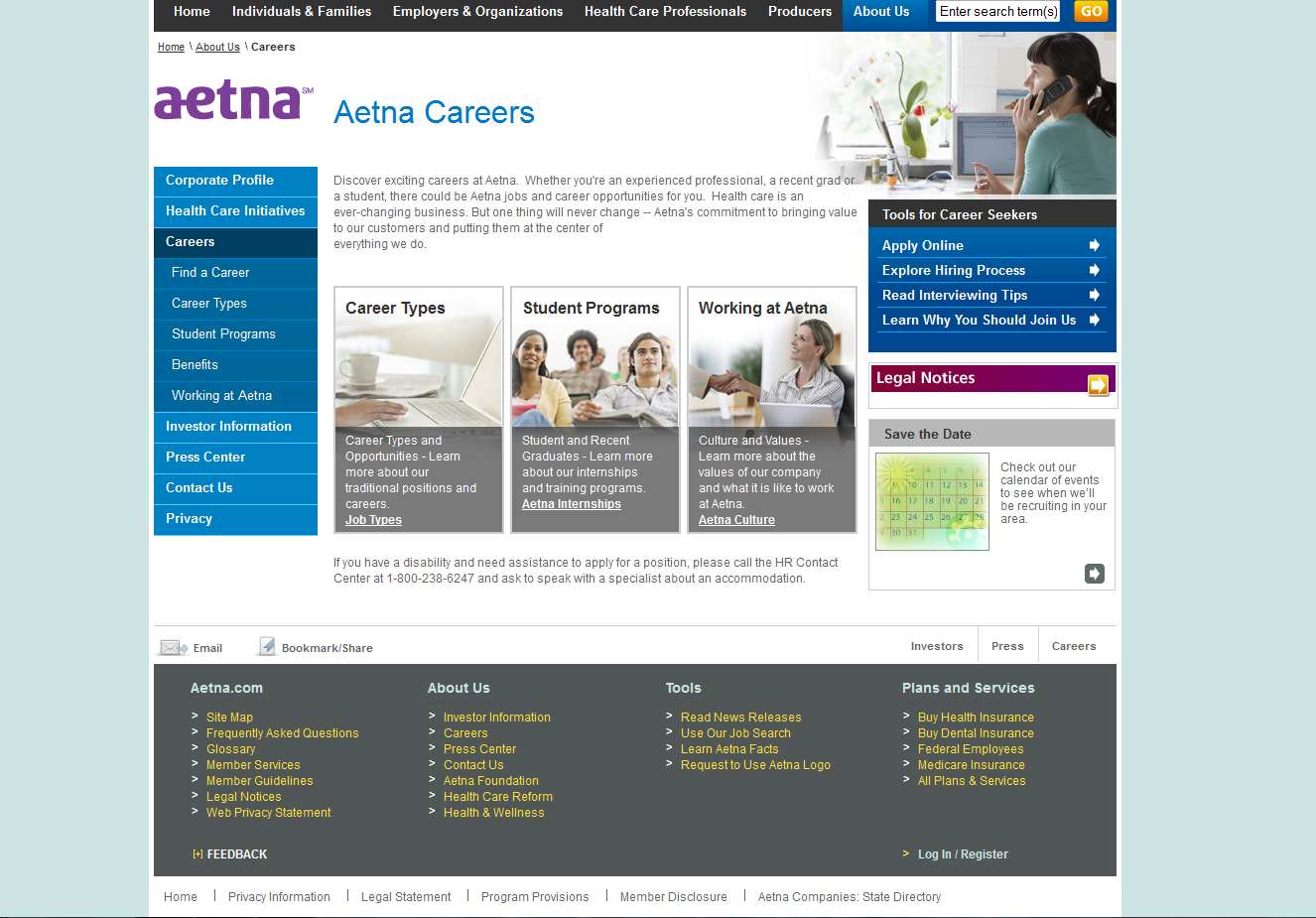 Aetna Work At Home Jobs In Customer Service Online Employment Working From Home Work From Home Jobs