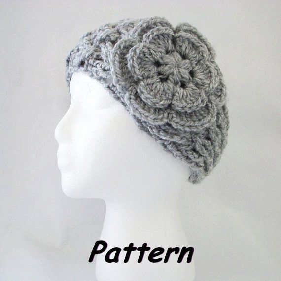 Free+Crochet+Headband+Ear+Warmer | PDF CROCHET Pattern: NEW Lattice ...