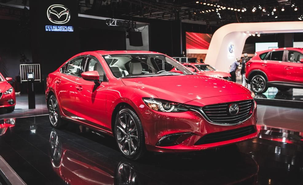 view 2016 mazda 6 premieres with fancy new cabin and subtly tailored body photos from car and. Black Bedroom Furniture Sets. Home Design Ideas