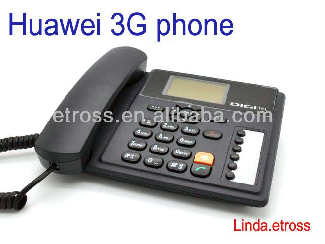 3g fixed phone with sim card slot,sim based gsm phone for 3G network