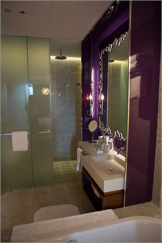 Bathroom at the W Singapore Hotel - Sentosa Cove ...