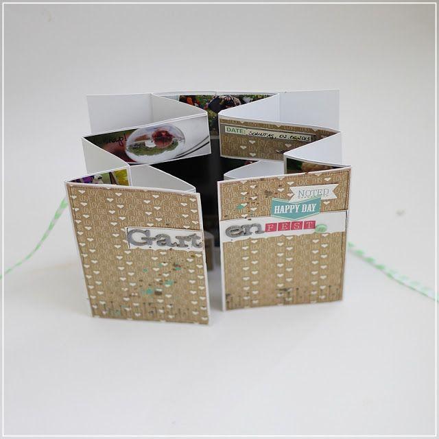 meine bunte wunderwelt mini books album buch binden und buch selber binden. Black Bedroom Furniture Sets. Home Design Ideas