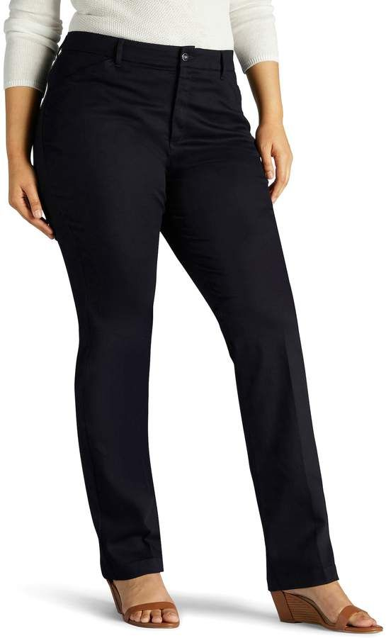 83a58d4736beaa Lee Plus Size Flex Motion Straight-Leg Pants in 2018 | Products ...