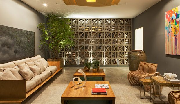 Hall de Entrada por Victor Sarcinelli em Casa Cor Espírito Santo 2014