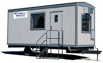 Ah The Portable Office Trailer Square Feet Is A Place To Start - Mobile office trailer with bathroom