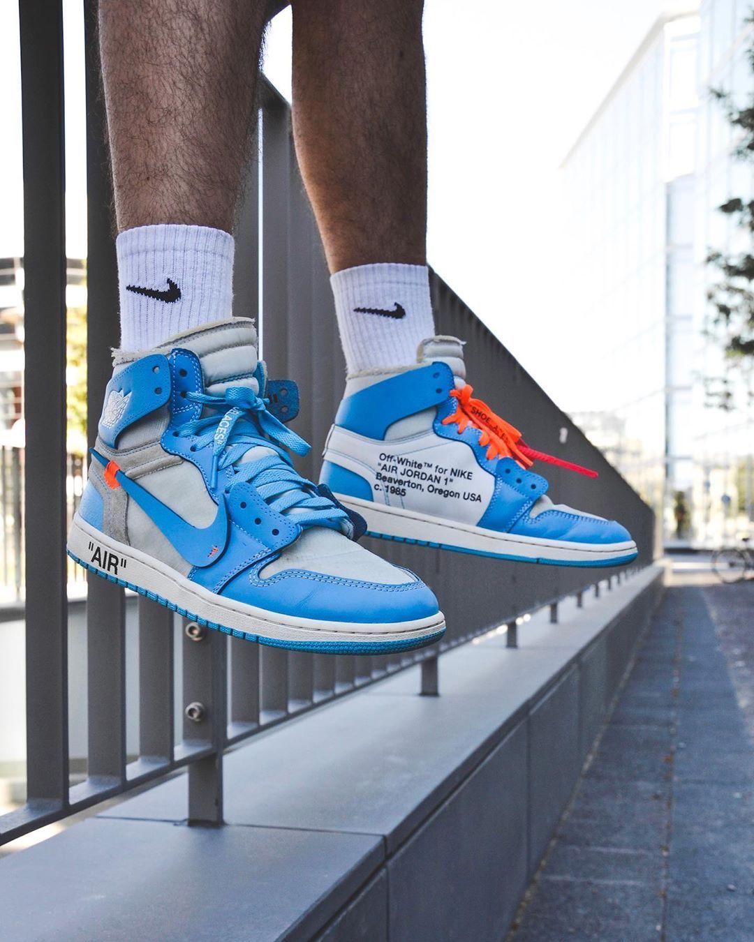 Jordan 1 Retro High Off White University Blue Jordan 1 Retro