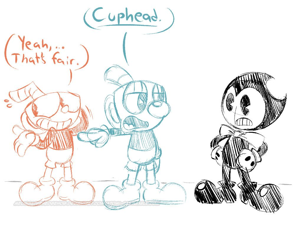 Doodles From Tonight S Stream Still On A Cuphead Kick So That S