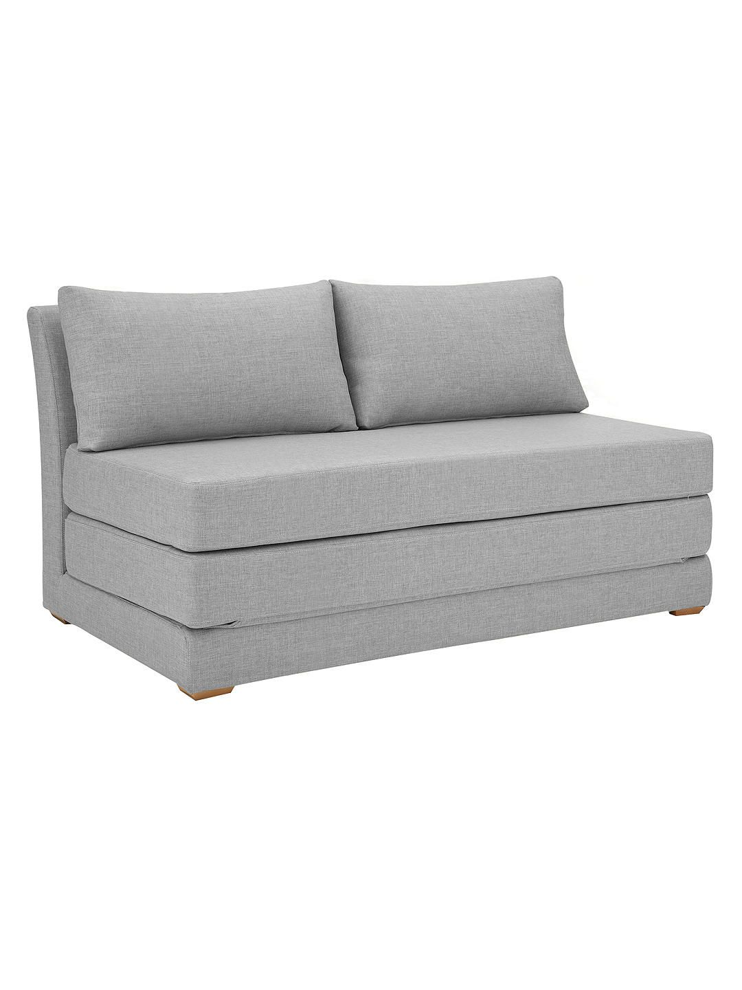 House By John Lewis Kip Small Sofa Bed With Foam Mattress At John Lewis Partners Small Sofa Bed Sofa Bed Guest Room Small Sofa