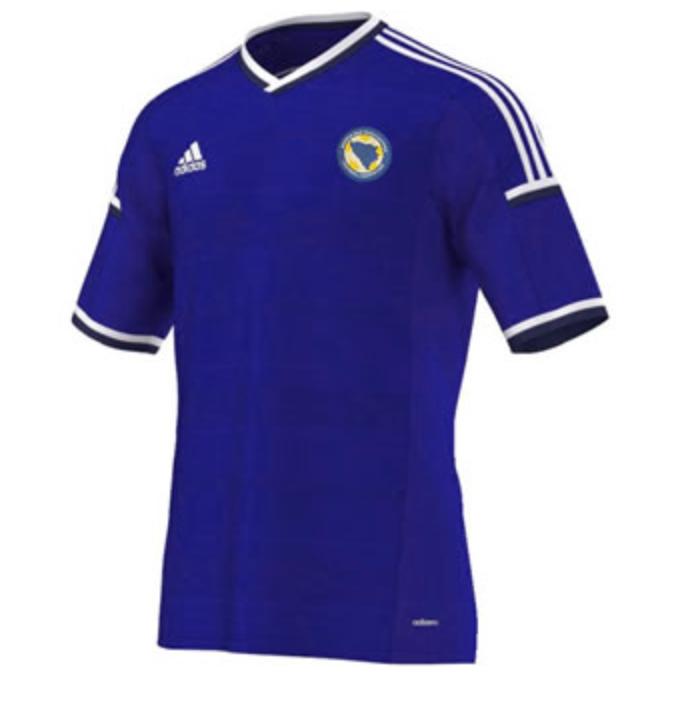 BosniaHerzegovina Home Kit for World Cup 2014 worldcup