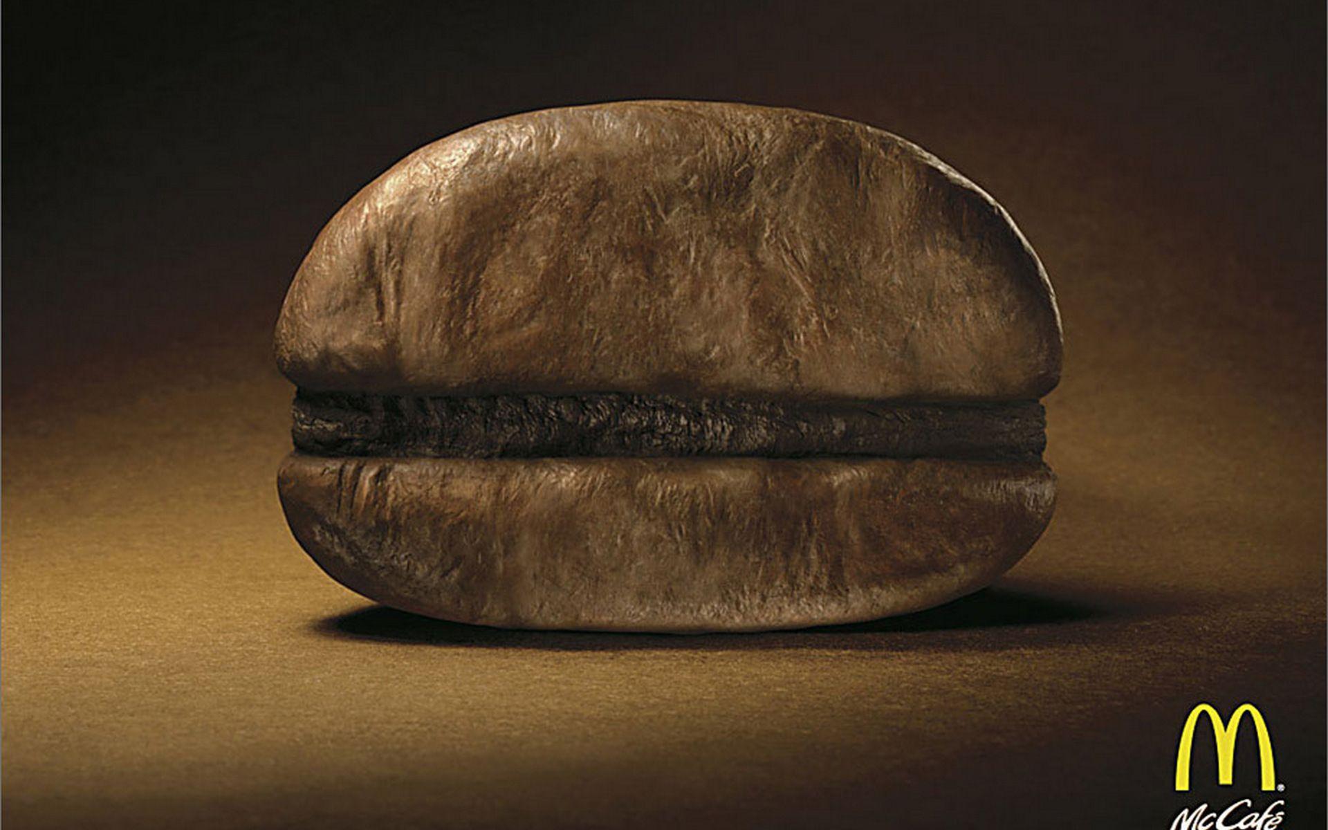 McDonalds Bean | Publicidad creativa, Publicidad inteligente, Anuncios impresos