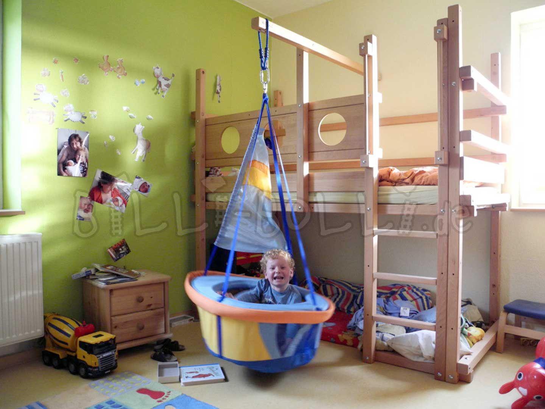 Hochbett mitwachsend billi bolli kinderm bel for Fensterbilder kinderzimmer