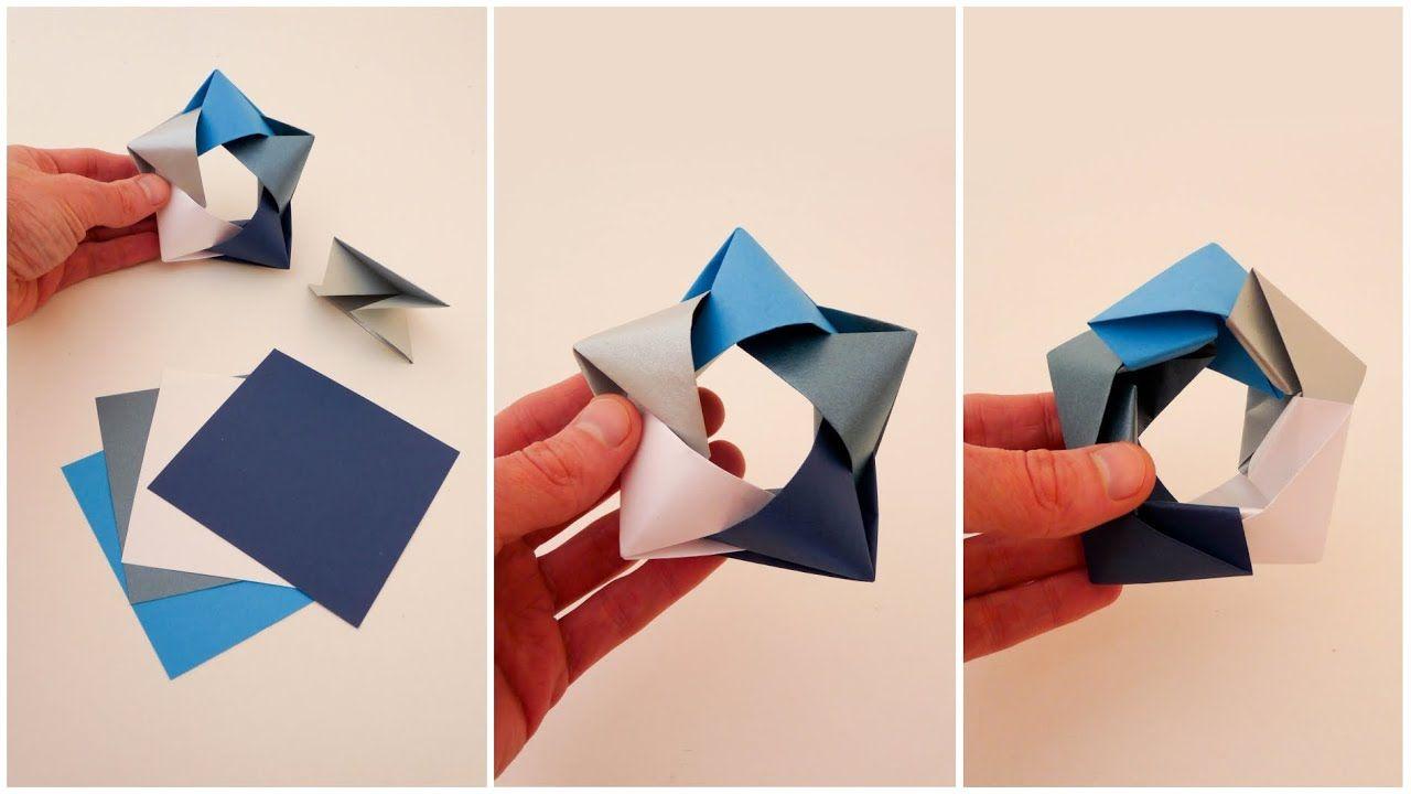 Origami Star Estrella Origami Tutorial In 2020 Origami Stars Origami Tutorial Origami