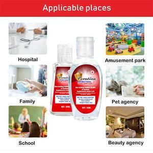 Hand Sanitizer Alcohol Disinfectant Gel Moisturizer No Need To Wash With Water Long Lasting Cleaning Antibacterial Hand Wash In 2020 Gel Moisturizer Hand Sanitizer Gel