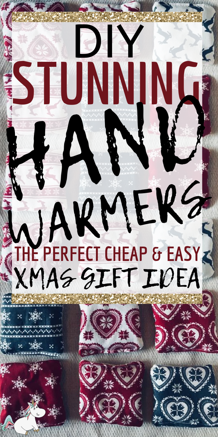 DIY Hand Warmers | The Perfect Handmade Gift Idea | The Mummy Front