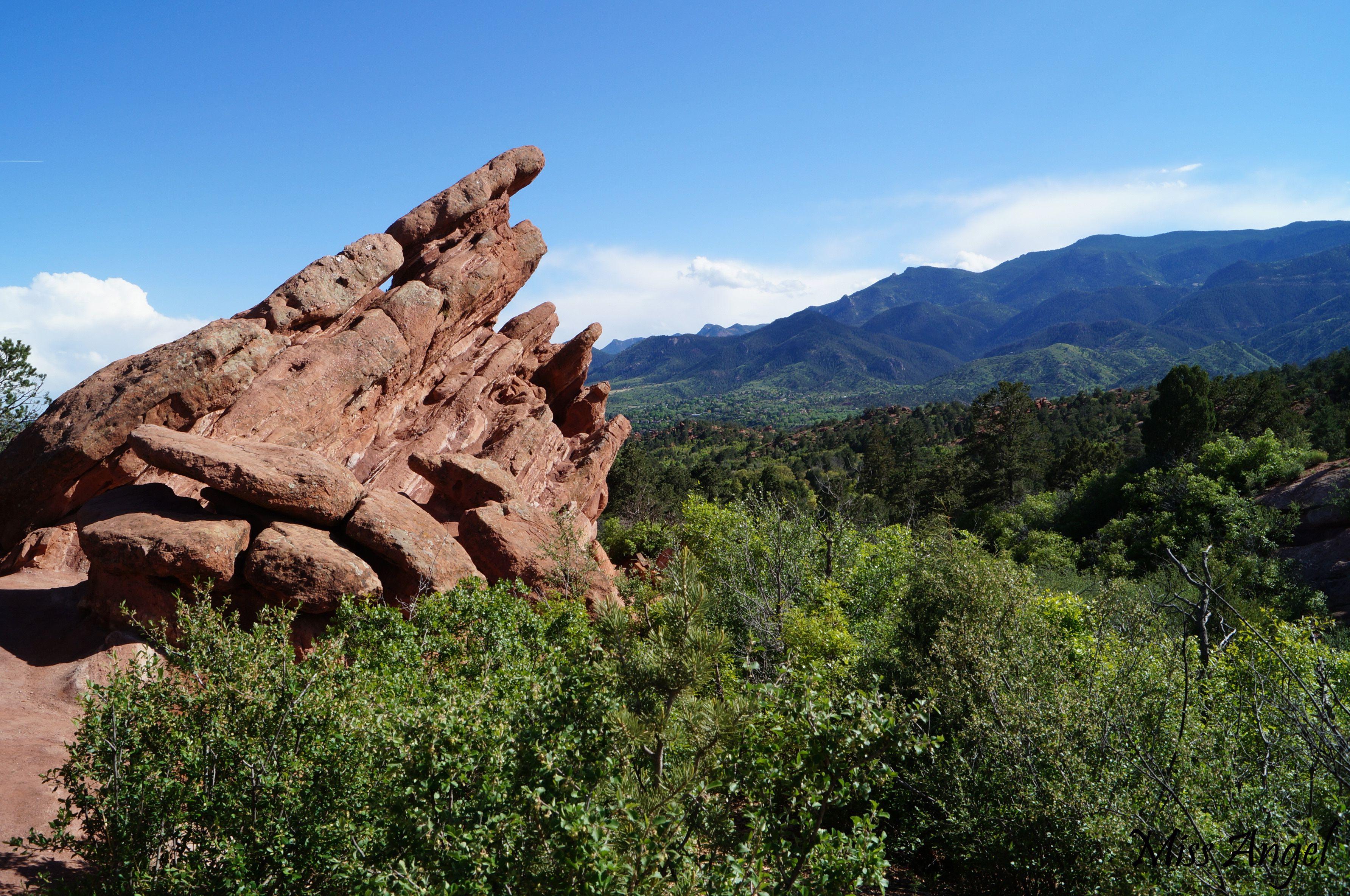 Garden Of The Gods Colorado Springs Co Oc 3568x2368
