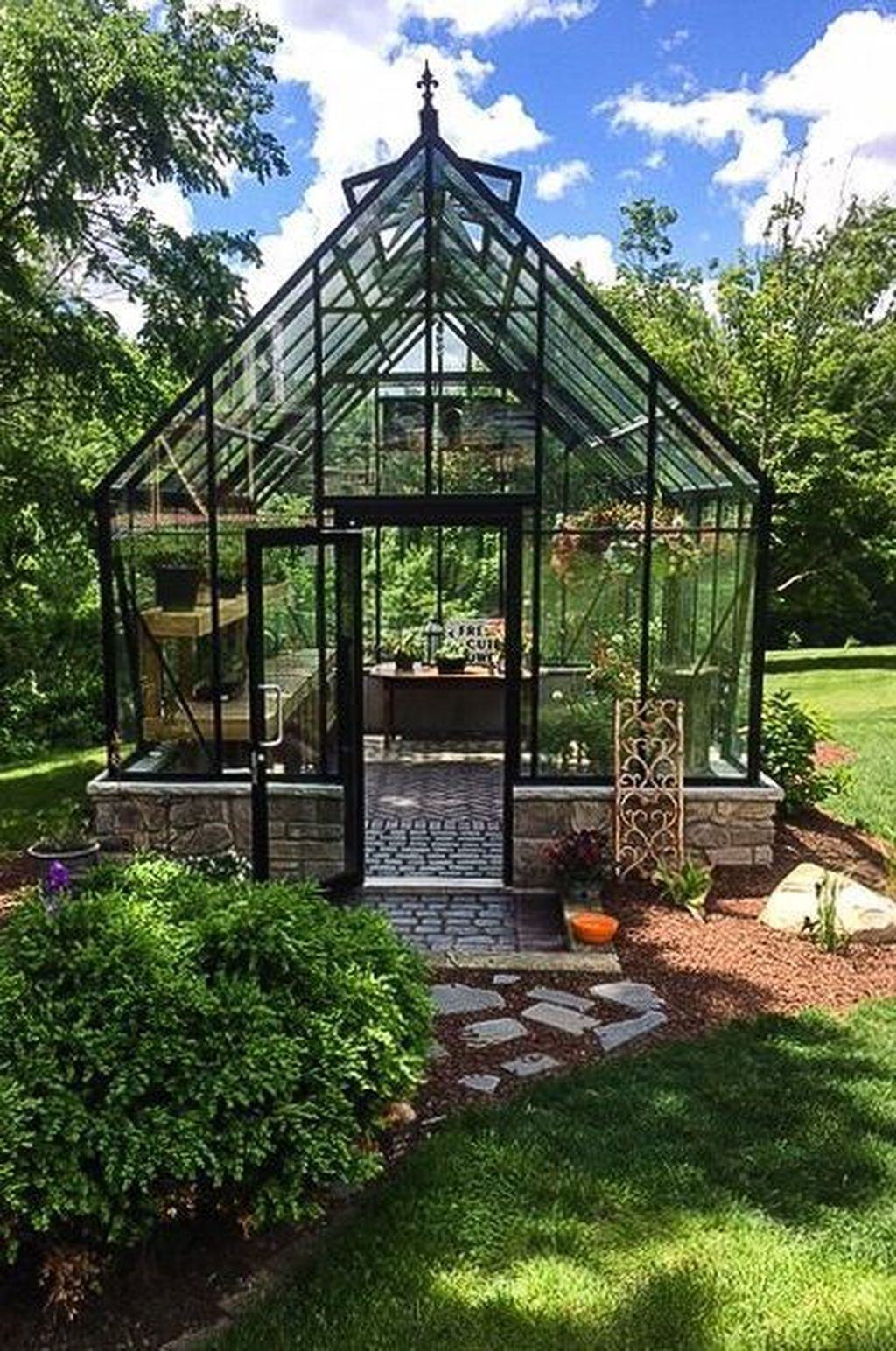 35 Latest Wooden Greenhouse Design Ideas For Home Backyard To Copy Backyard Greenhouse Outdoor Greenhouse Diy Greenhouse Plans