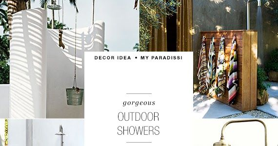 Love the idea of having an outdoor shower in my yard. These are 22 of my favorite design ideas.