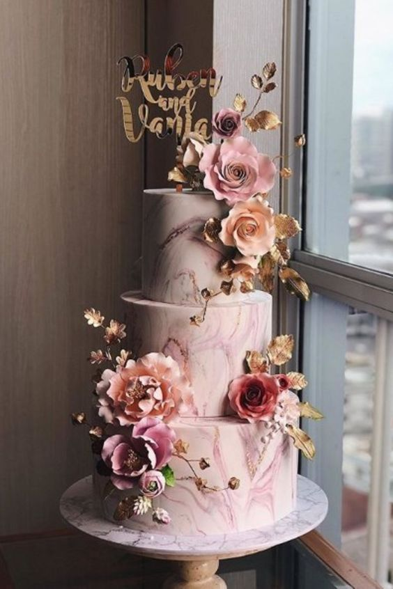 The Wedding Cake Trends That Are Defining 2019 - 7 Life Stories