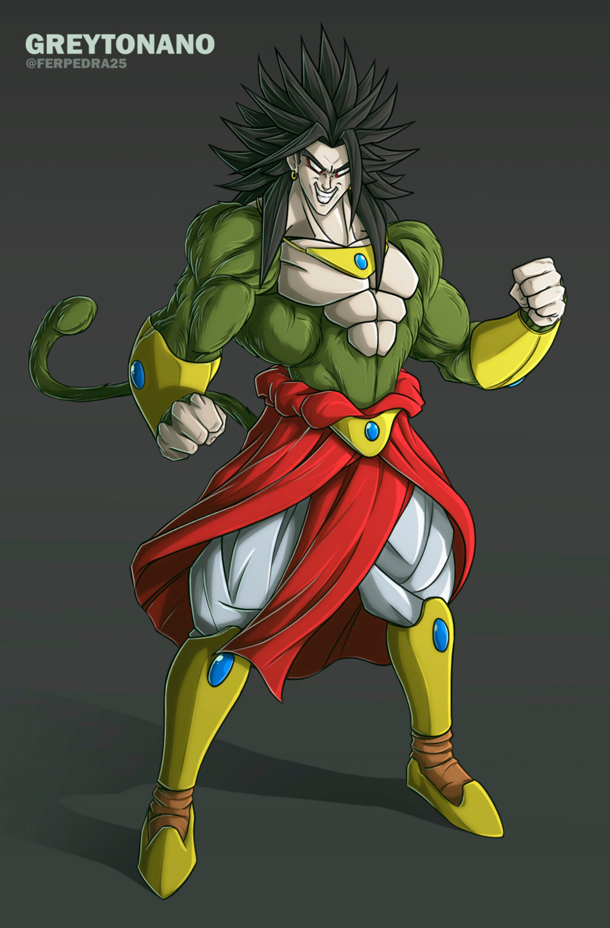 Broly ssj4 v2 by greytonano on deviantart stuff - Broly dragon ball gt ...