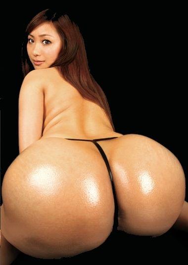 Ass big asian