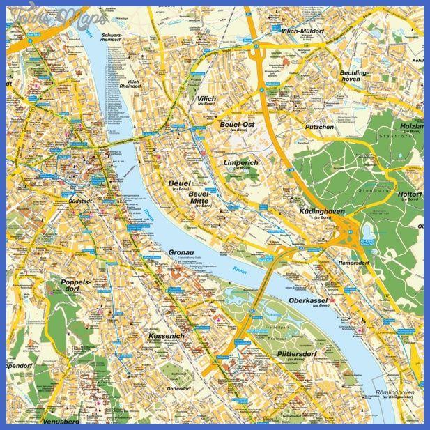 nice CologneBonn Metro Map Tours Maps Pinterest