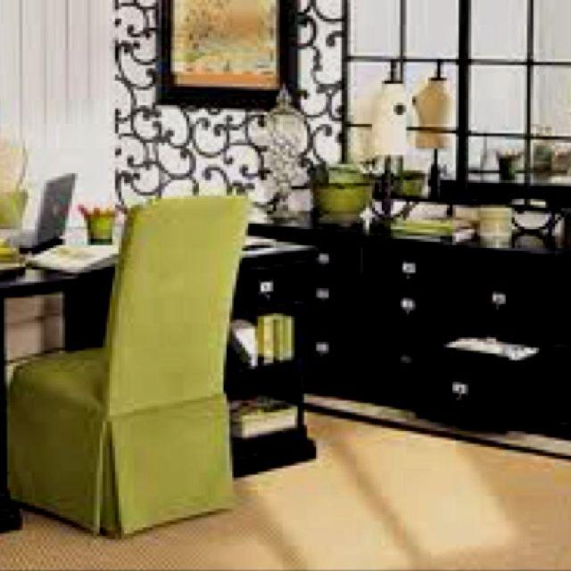 Office decorating. Love this color scheme | Sanctuary | Pinterest ...
