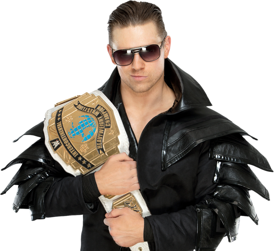 The Miz Miz Leather Jacket Champion