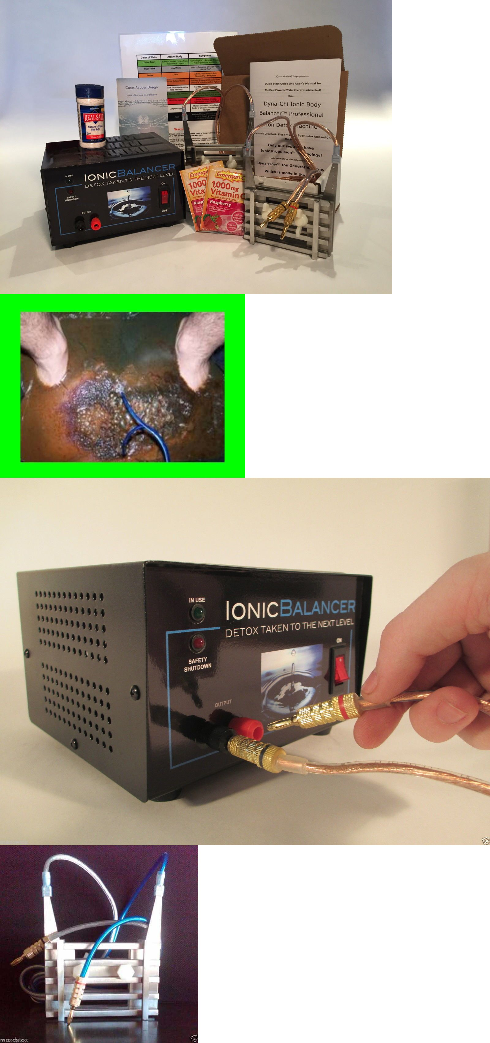 Ion Foot Baths: Dyna-Chi Ultra Pro Plus™ - 2 Arrays - Ion Ionic ...