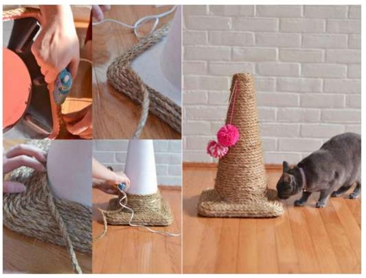 16 jouets pour chiens et chats super faciles bricoler avec des trucs de la maison jouets. Black Bedroom Furniture Sets. Home Design Ideas
