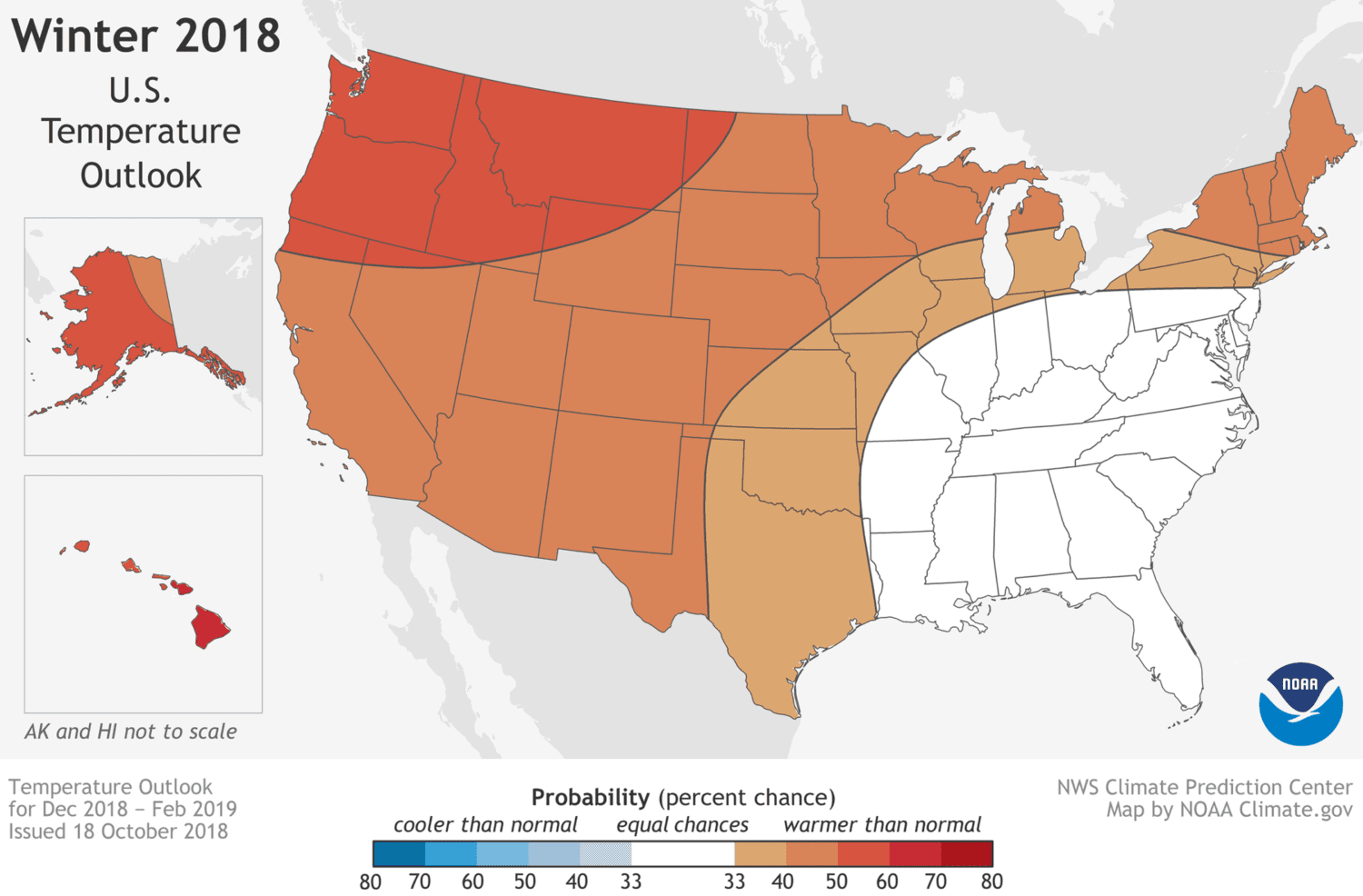 Winter Is Going To Be Exceptionally Mild For Most Of The Country Winter Forecast Winter Weather Forecast