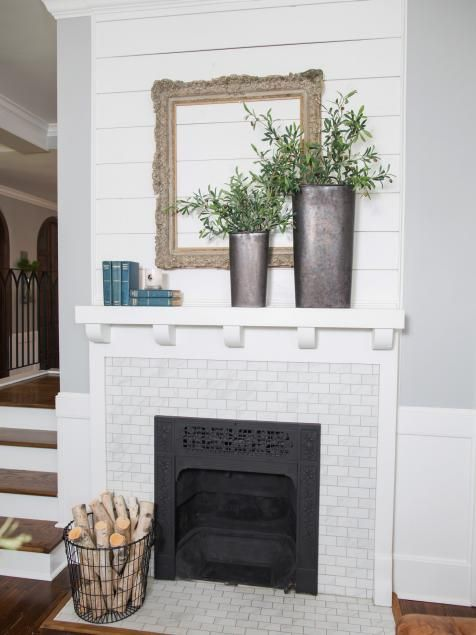 fixer upper texassized house small town charm small tile mantle