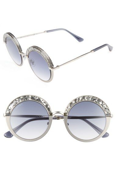 661b4885a JIMMY CHOO Gotha/S 50mm Round Sunglasses. #jimmychoo # | Jimmy Choo ...