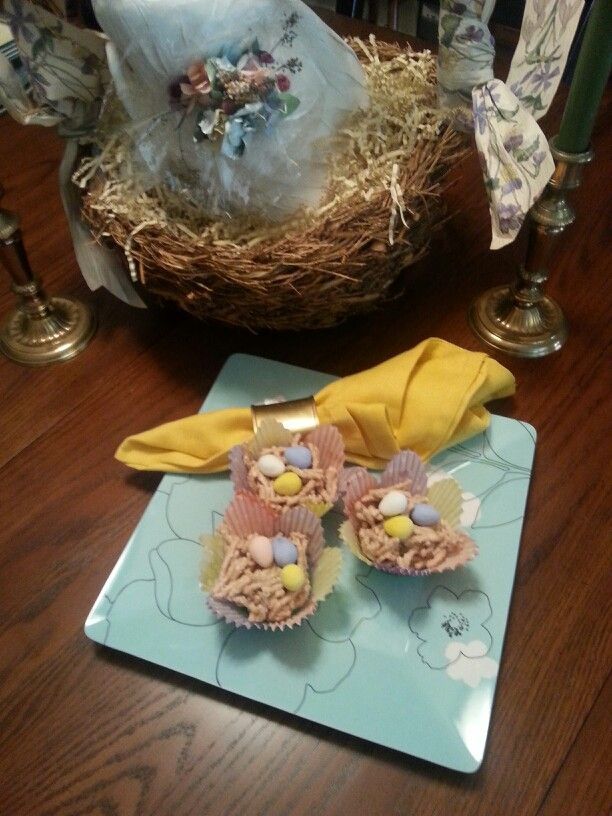 these bird nests are the recipe for butterscotch bird nest