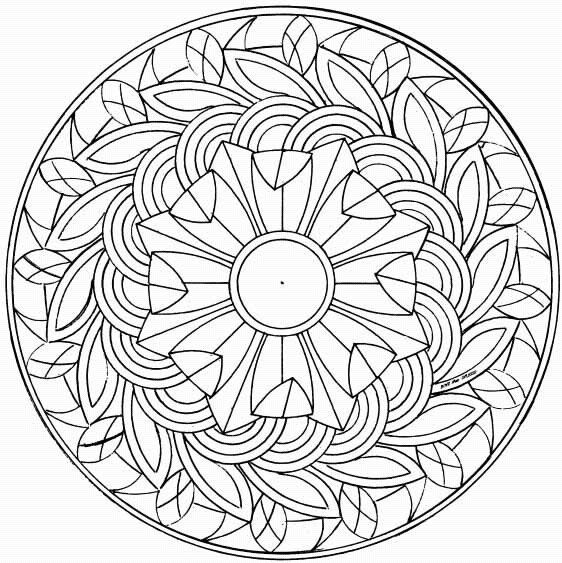 Coloring pages special mandala 123 | free sample | Join fb grown-up ...