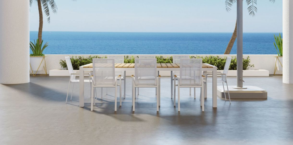 Aviana Outdoor Dining Set White Outdoor Outdoor Dining Set Outdoor Dining