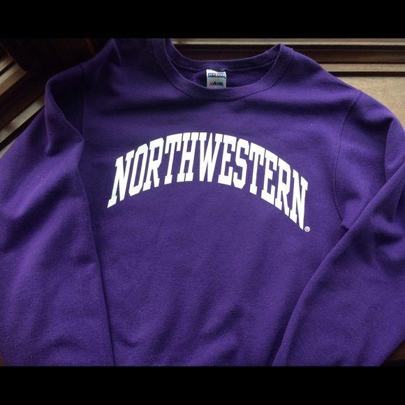 2ea635f05 Vintage Northwestern Sweatshirt Vintage, purple Northwestern University  sweatshirt. Lightly worn, in good shape. Jurzees Sweaters Crew & Scoop Necks