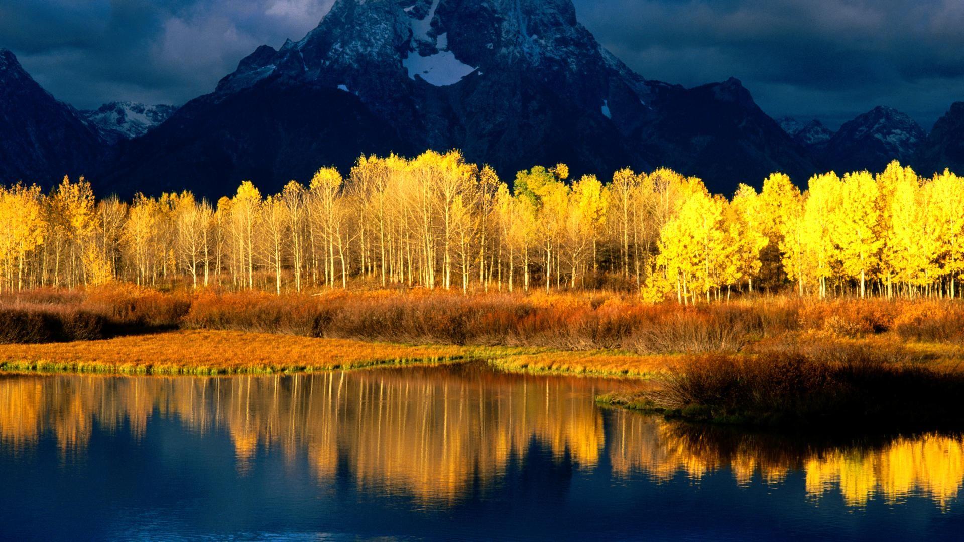 Sfondi Desktop Gratis Autunno Grand Tetons Beautiful Nature Nature