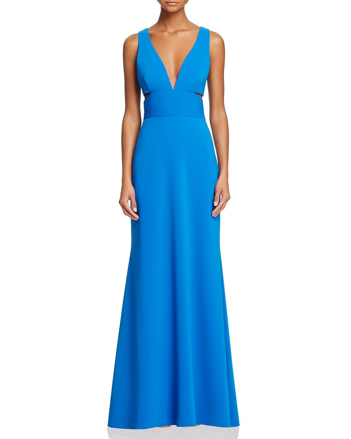 Laundry By Shelli Segal Cutout Gown 100 Bloomingdale 39 S