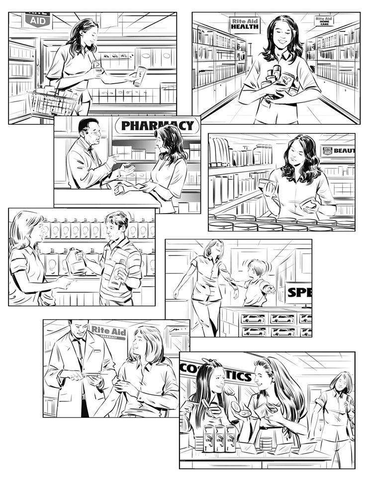 Jeff Norwell Comic layout, Storyboard artist