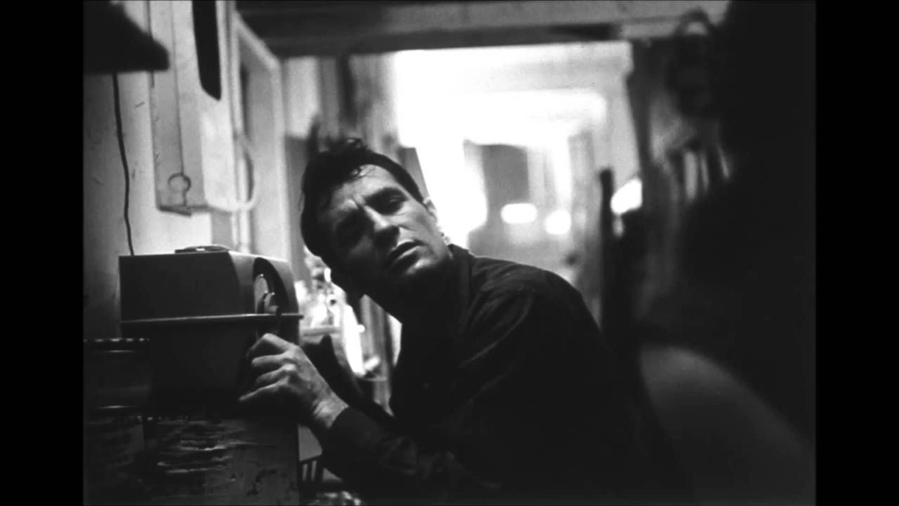 Jack Kerouac and a radio. Unattributed.