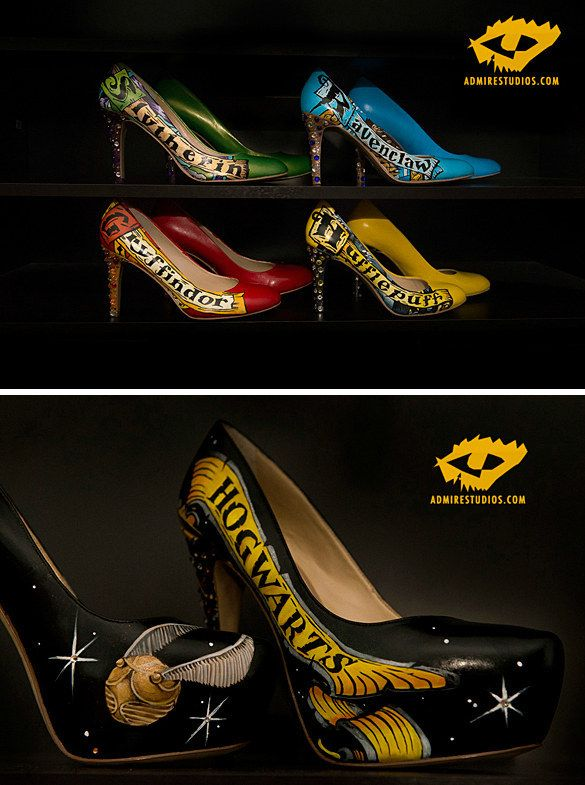 Walk down the aisle in these amazing shoes. | Harry potter