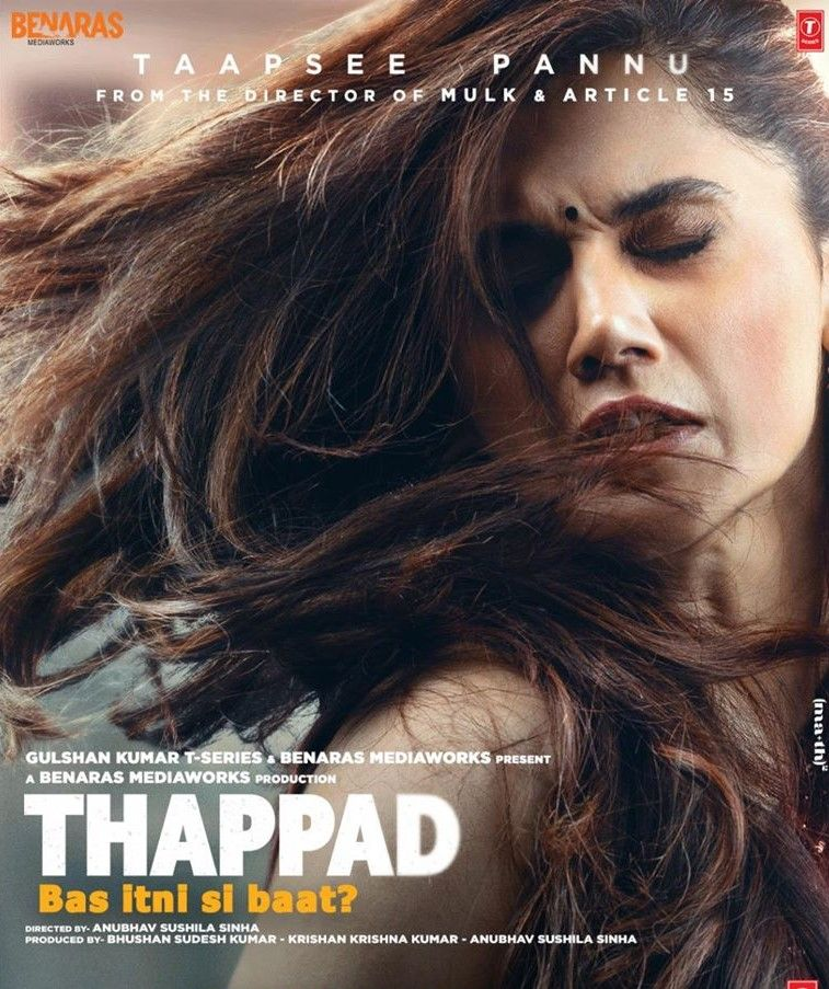 Thappad Movie Wikipedia In 2020 Hindi Movies Latest Bollywood Movies Download Movies