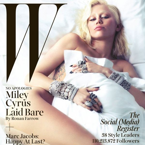 PHOTO: Miley Cyrus smoulders in 'W' magazine