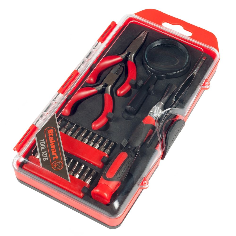 Stalwart Precision Electronics, Repair & Hobby 25-piece Tool